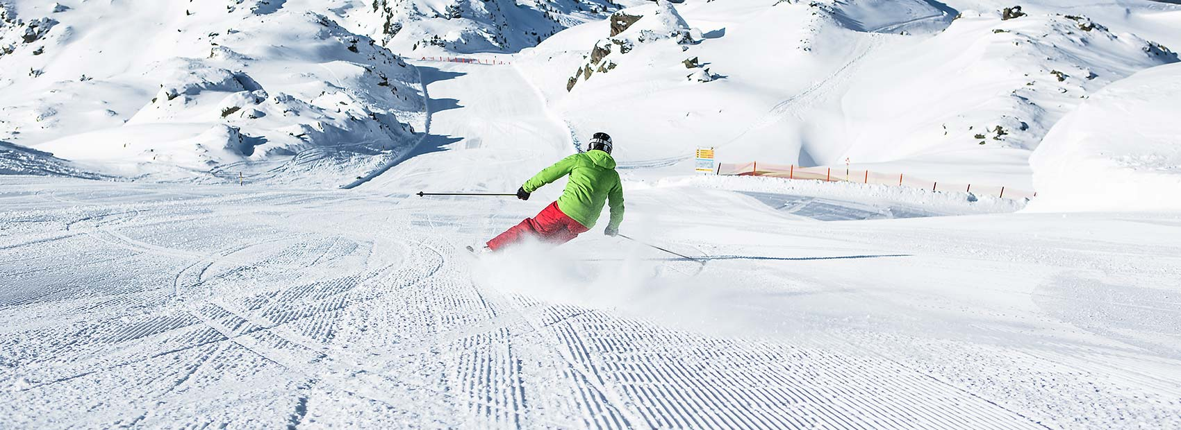 Best prepared pistes in the Zillertal Arena
