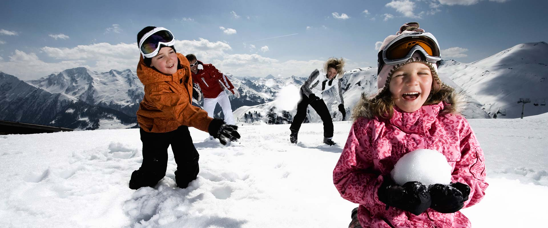 Children, winter holiday is fun like this